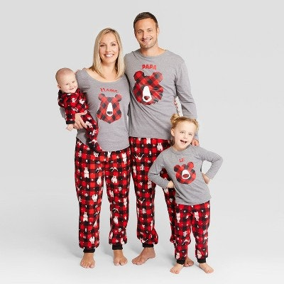 Wondershop™ Holiday Bear Family Pajamas Collection