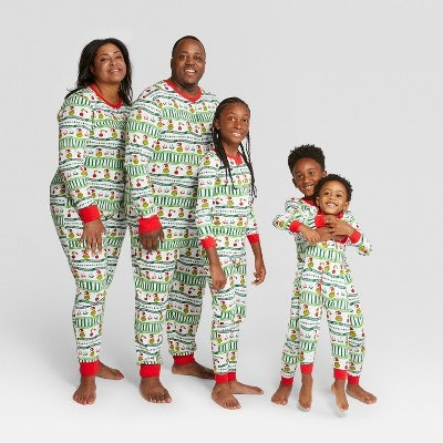 Doctor Seuss Holiday Family Union Suits