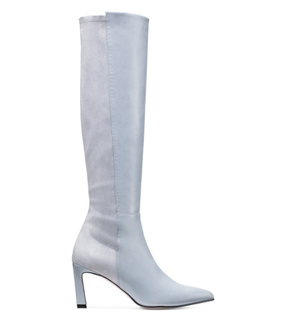 The Demi Boot in Dovetail Blue Gray