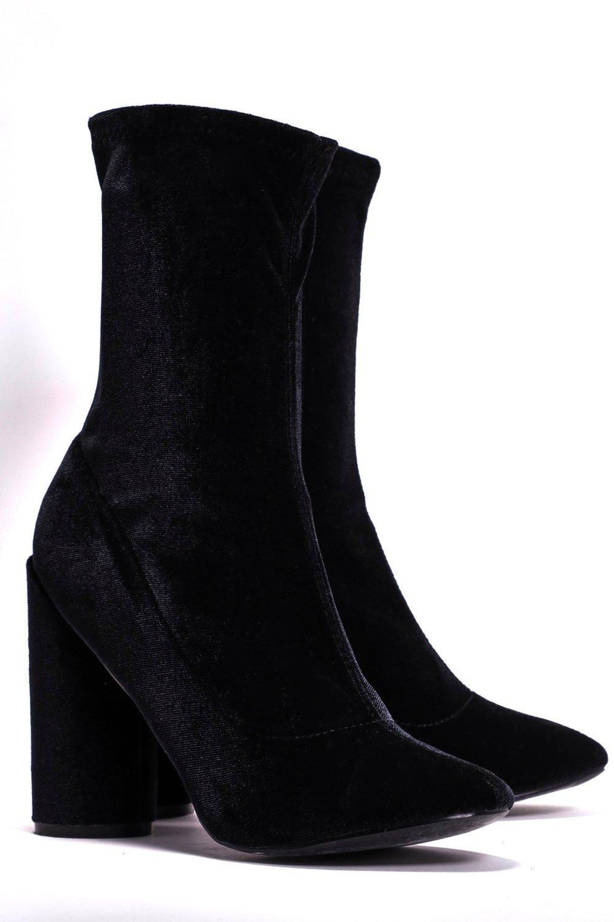 Out of Touch Velvet Boot