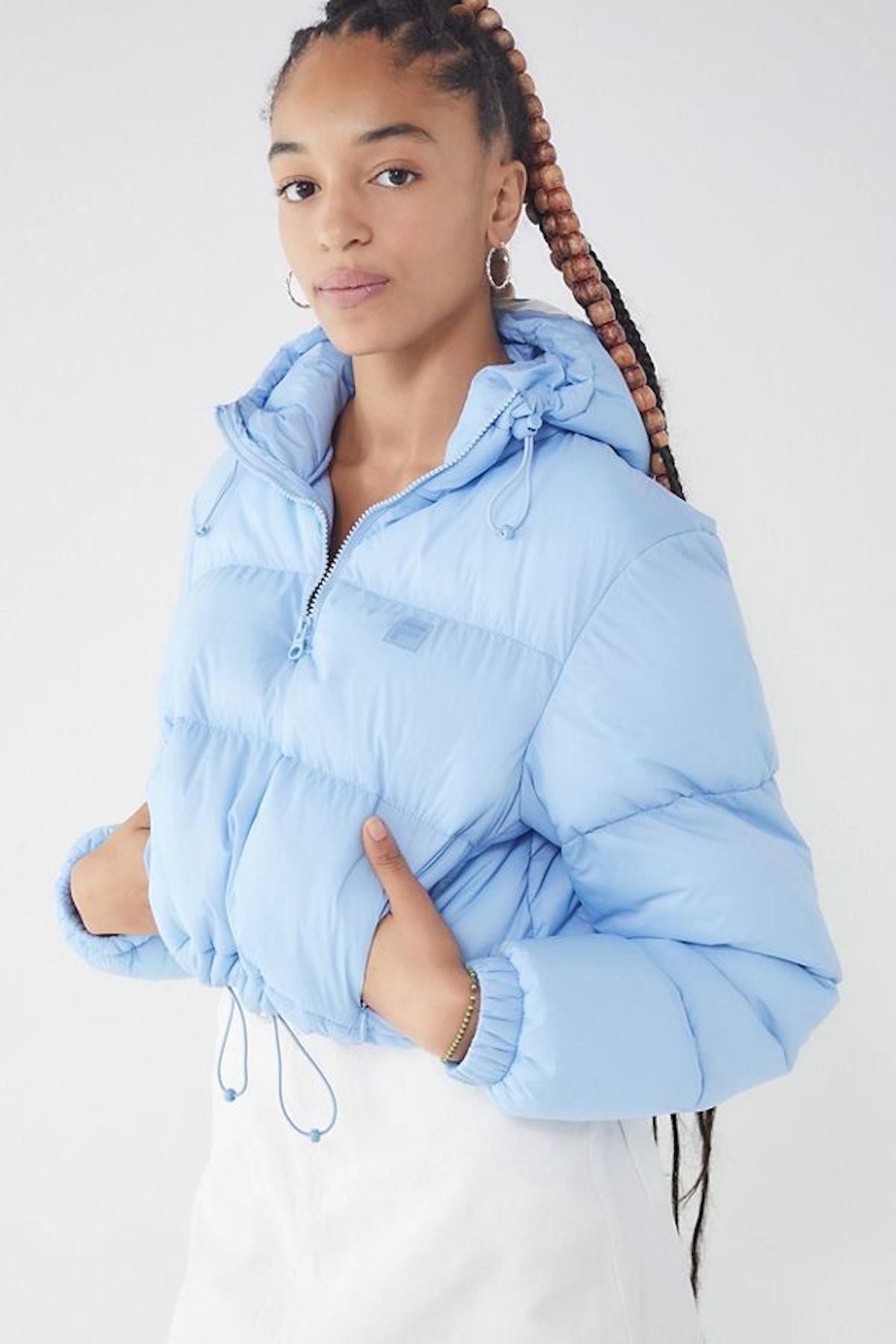 FILA + UO Nariko Cropped Puffer Jacket