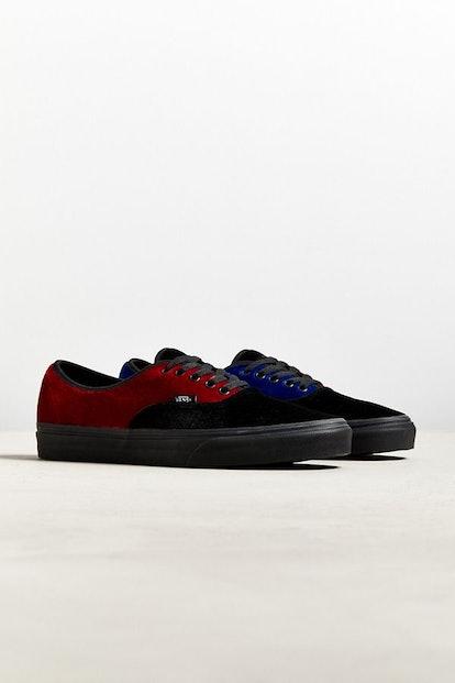Vans Colorblock Velvet Authentic Sneaker