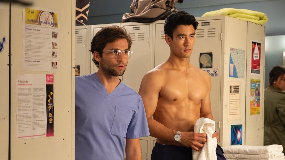 Dr Nico Glasses On Greys Anatomy Have A Connection But Is