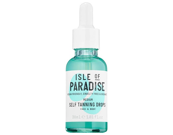 Self-Tanning Drops in Green