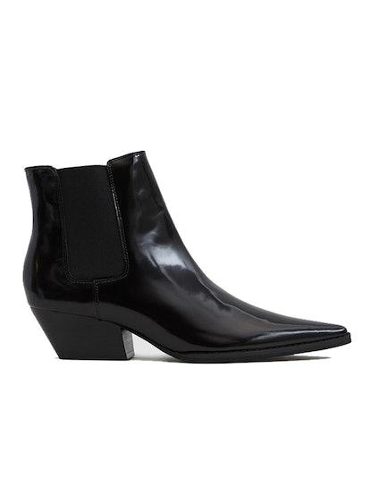 Varsity Western Ankle Boot