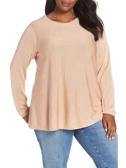 Tencel Lyocell & Silk Sweater