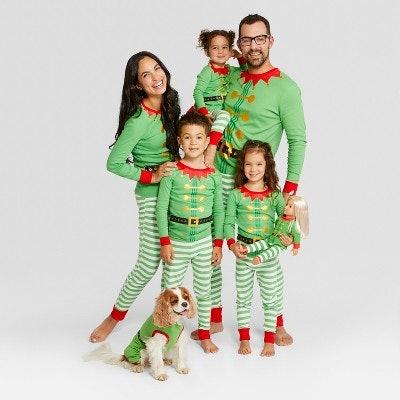 Wondershop™ Holiday Elf Family Pajamas Collection