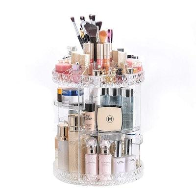 DreamGenius Rotating Makeup Organizer