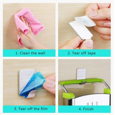 Kosin Adhesive Hooks (16 Pack)
