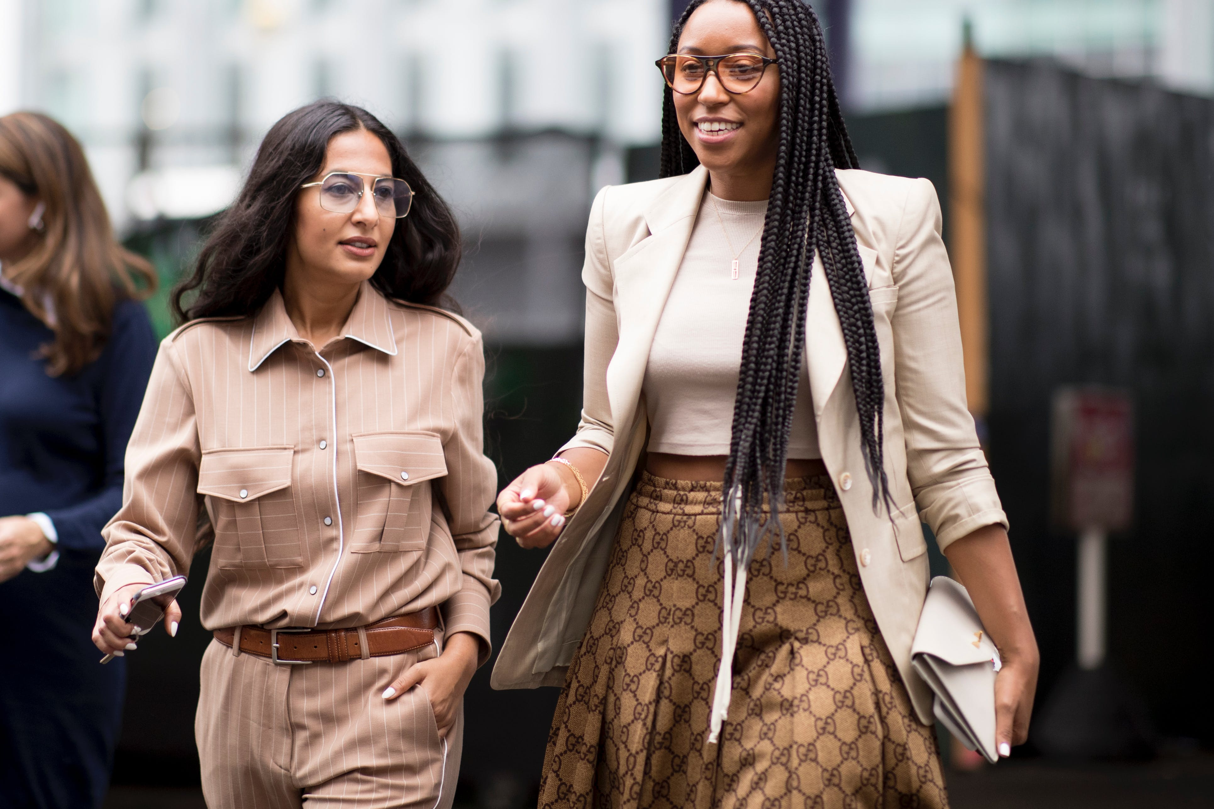 5 Outfits To Wear With Sneakers That Are Polished Enough For Work