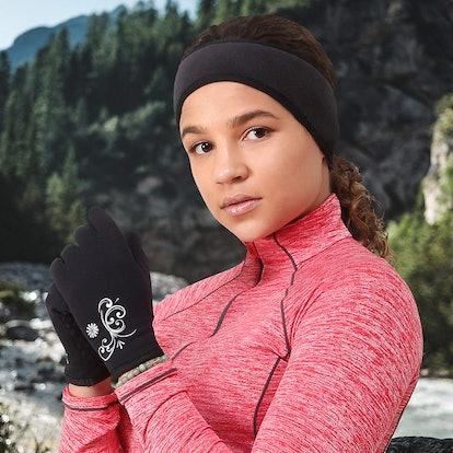 TrailHeads Women's Running Touchscreen Gloves