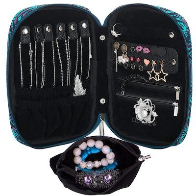 Lily & Drew Travel Jewelry Storage Carrying Case