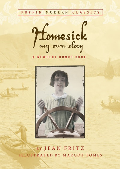 'Homesick: My Own Story' by Jean Fritz, illustrated by Margot Tomes