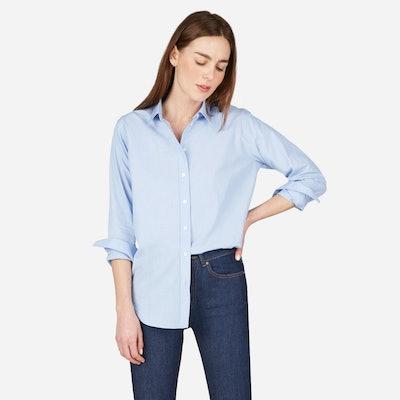 Relaxed Poplin Shirt