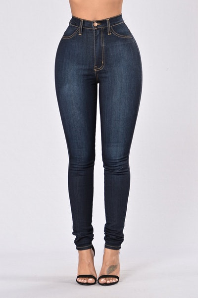 Classic High Waist Skinny Jean