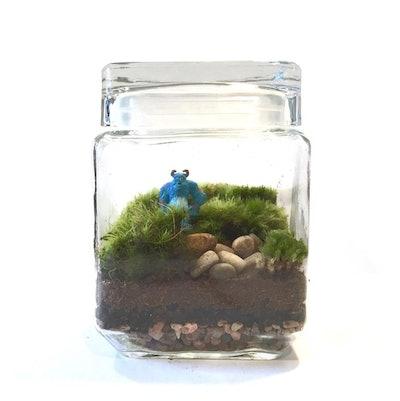 Sulley! Monsters, Inc. Inspired Terrarium