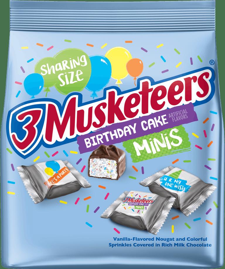 3 Musketeers Birthday Cake Bars Just