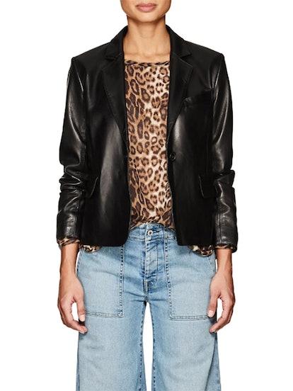 Morrison Leather Blazer