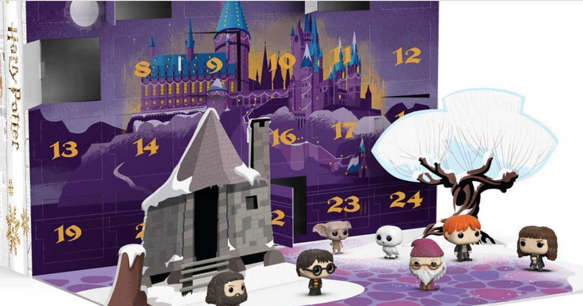 Funko Just Released A Harry Potter Advent Calendar With 24 Mini Figurines
