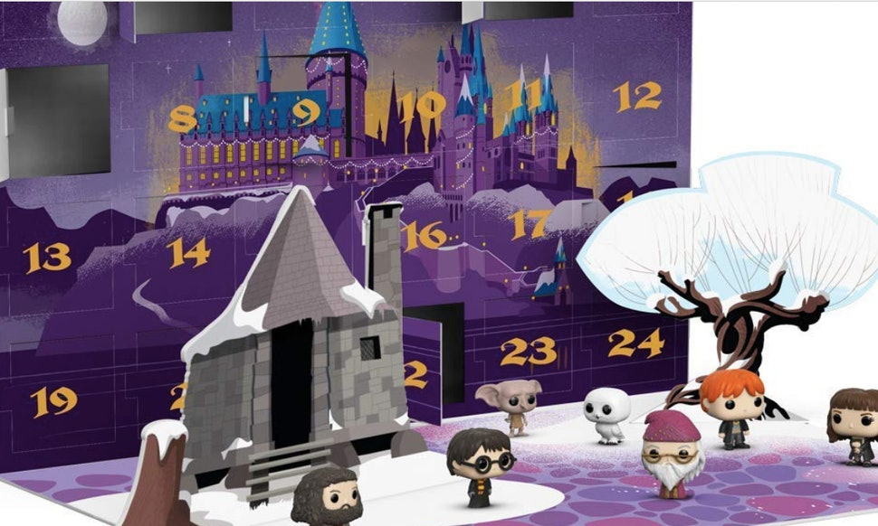 funkos harry potter advent calendar is full of 24 magical figurines