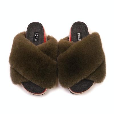 Roam Khaki Cloud Sandal