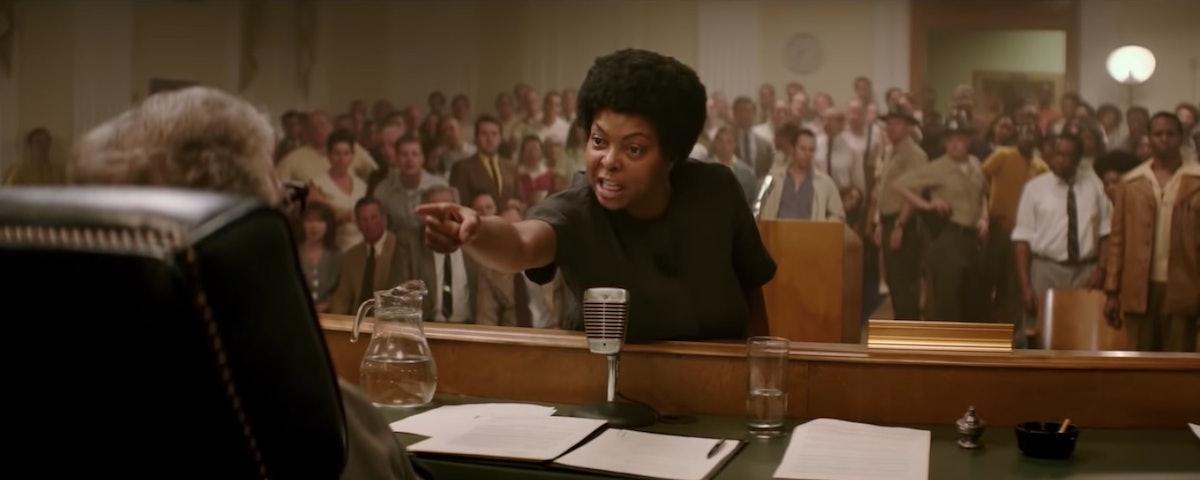 The 'Best of Enemies' Trailer Teases An Epic Clash Between Taraji P. Henson & Sam Rockwell — VIDEO