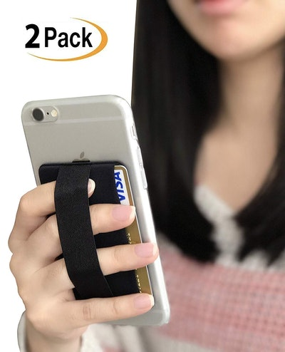 WuoJi RFID Blocking Cell Phone Card Wallet (2 Pieces)
