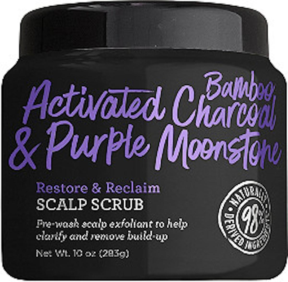 Activated Bamboo Charcoal & Purple Moonstone Restore & Reclaim Scalp Scrub