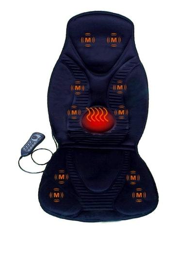 10-Motor Vibration Massage Seat Cushion With Heat