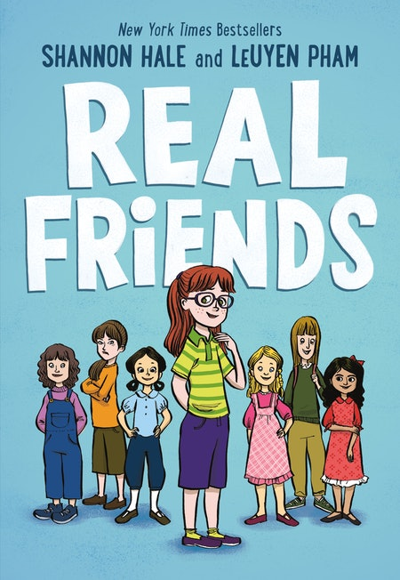 'Real Friends' by Shannon Hale, illustrated LeUyen Pham