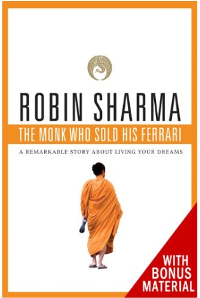 """""""The Monk Who Sold His Ferrari,"""" Paperback Version"""