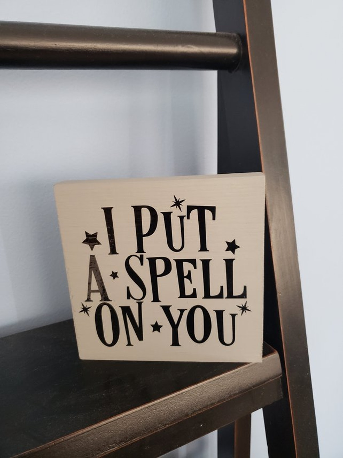 I Put A Spell On You Sign