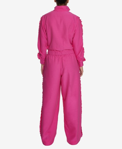 INSPR Natalie Off Duty Ruffle Track Pants, Created for Macy's
