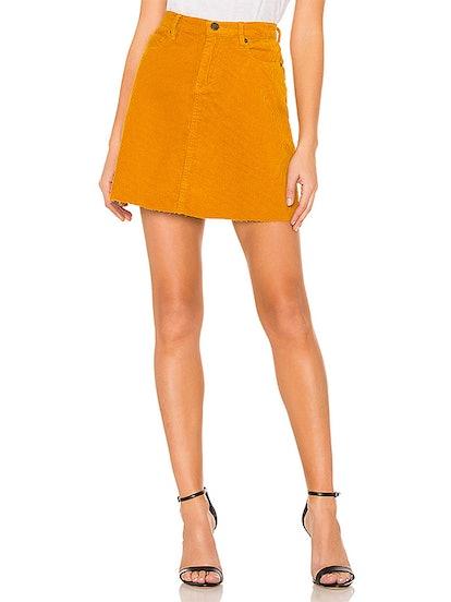 High Rise Corduroy Skirt