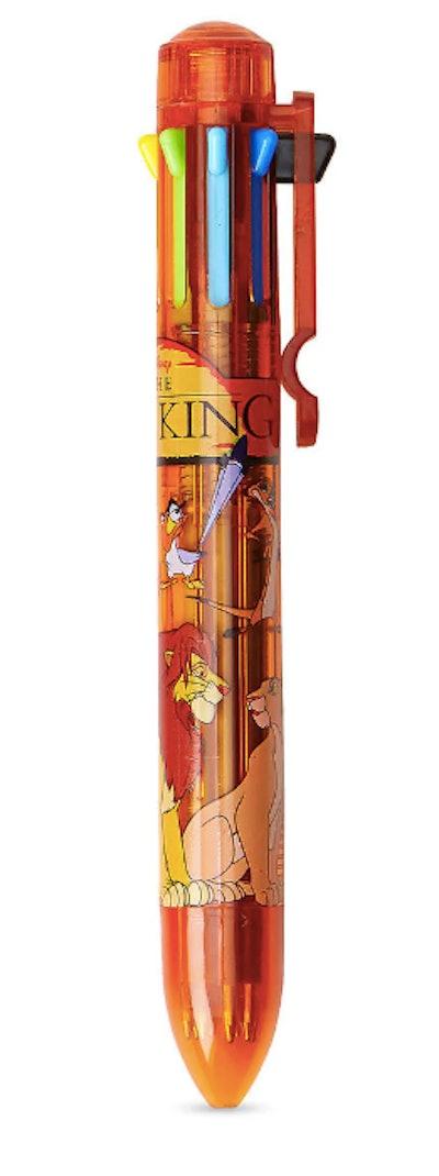 The Lion King 8-Color Ballpoint Pen