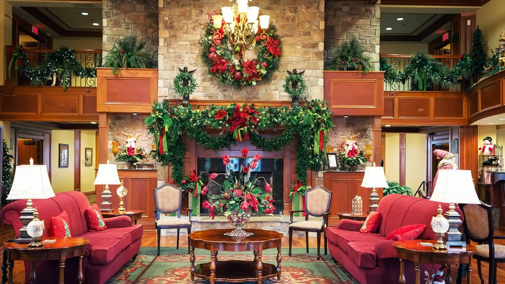 These 6 Christmas-Themed Hotels Are