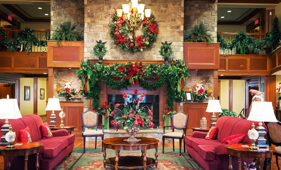 these 6 christmas themed hotels are seriously perfect to spend the