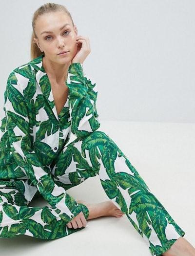 ASOS Tall Banana Leaf Pajamas