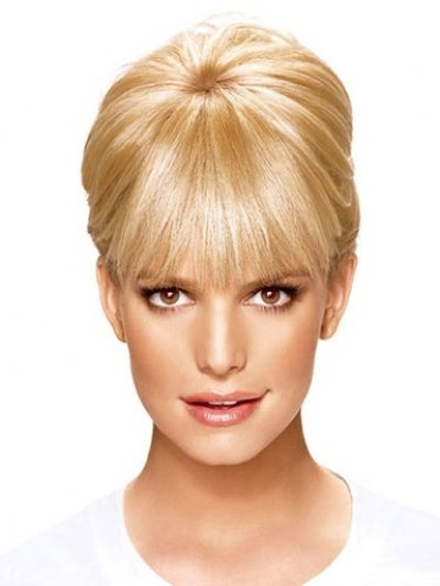 Ken Paves Clip-In Bangs Hair Extension