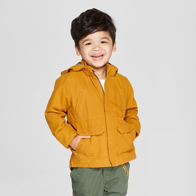 Toddler Boys' Canvas Anorak Jacket
