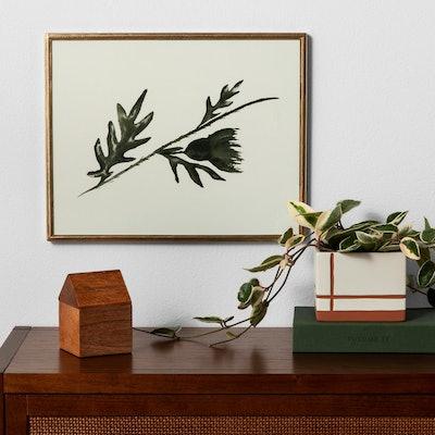 "Framed Wall Art 16""x12"" - Botanical - Hearth & Hand with Magnolia"