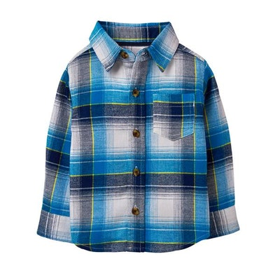 Toddler Plaid Flannel Shirt