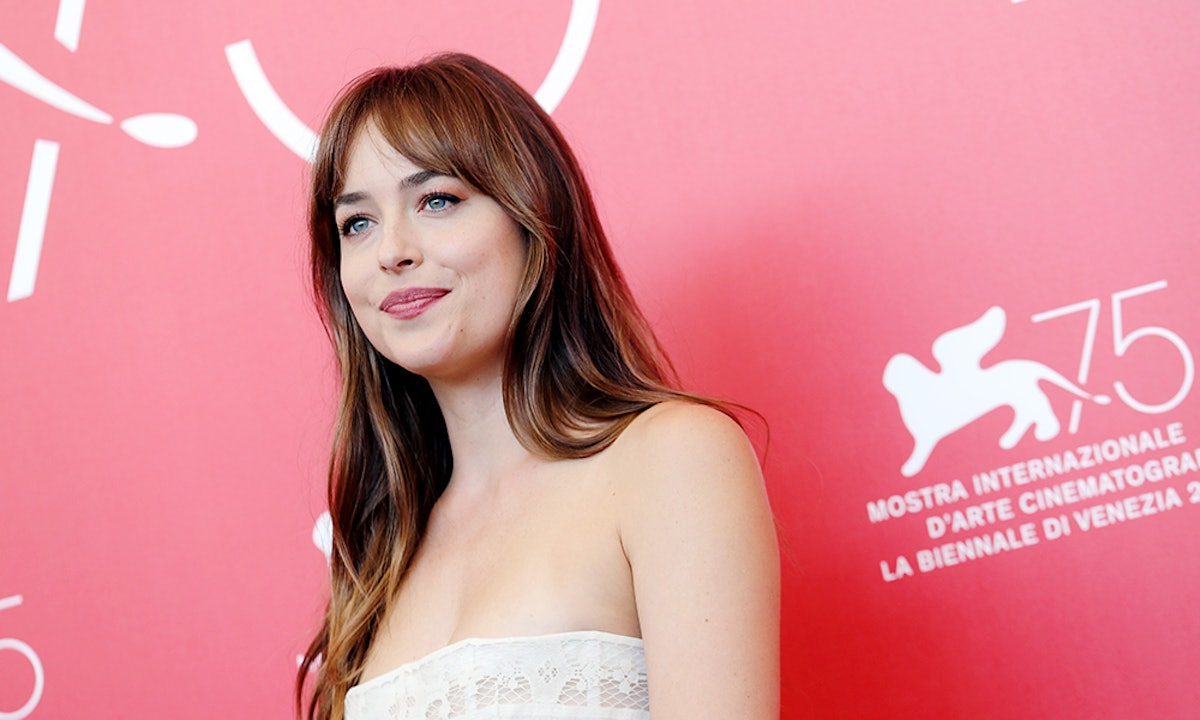 Dakota Johnson's Black Jumpsuit Is The Ultimate Holiday-Party Look