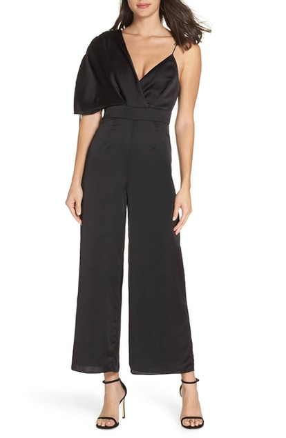 Uncovered Asymmetrical Jumpsuit