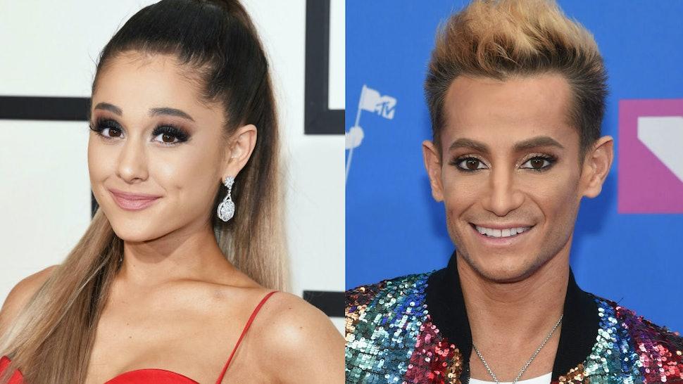 Frankie Grande Sent Ariana Grande So Much Love On Instagram