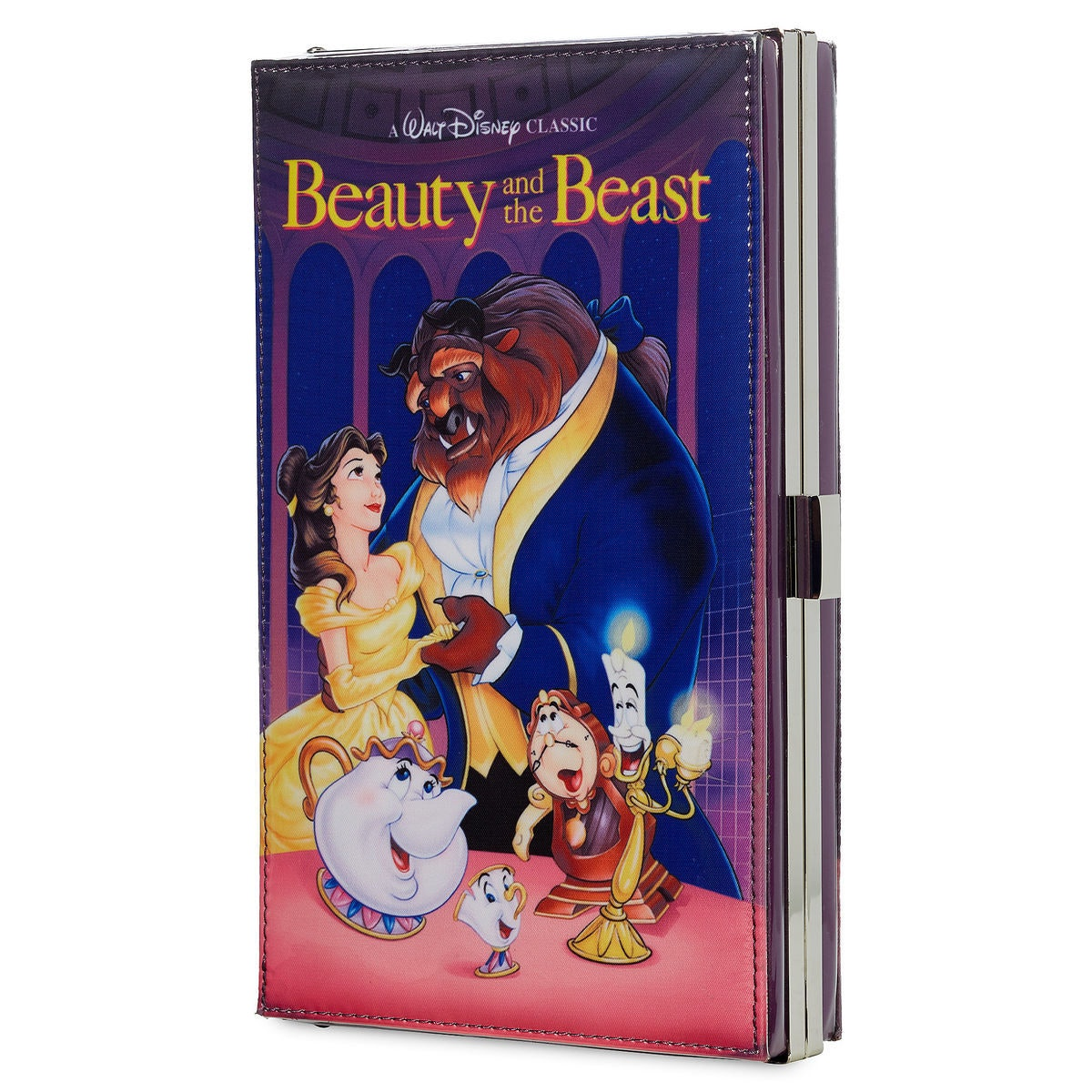 Beauty and the Beast ''VHS Case'' Clutch Bag - Oh My Disney