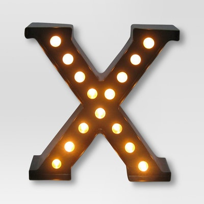 Metal Marquee Letter Small LED - Threshold