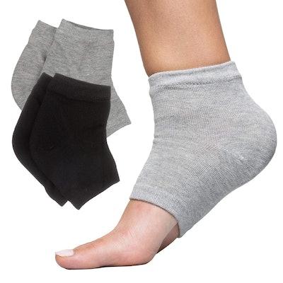ZenToes Moisturizing Heel Socks (2 Pair)