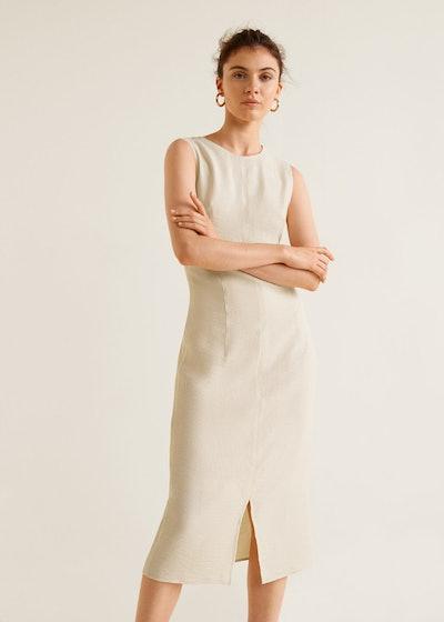 Knot Textured Dress