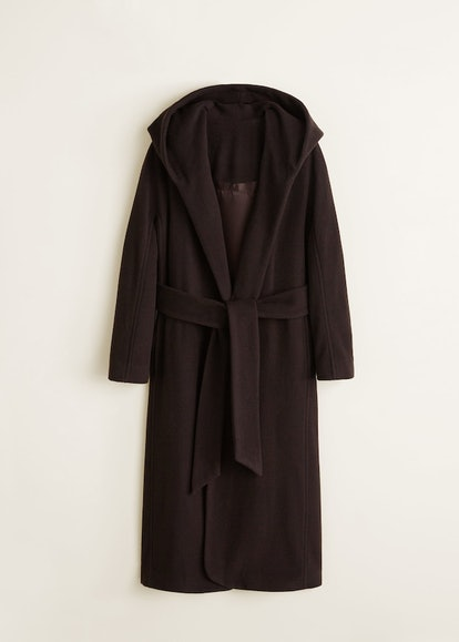 Long Recycled Wool Coat